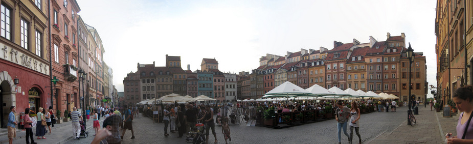 2-Warsaw - Old Town Square